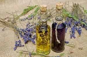 dišeča eterična olja