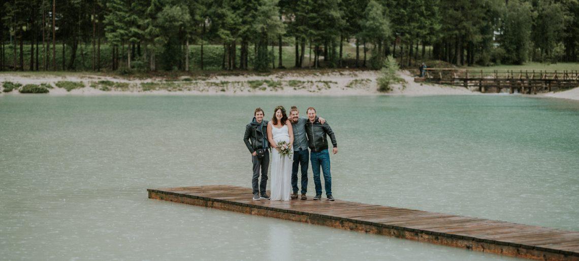 Kje in kako organizirati popolno poroko na Jezeru Jasna